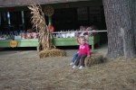 Abigail's first field trip--to the apple orchard!