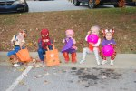 Trick or Treating with pals