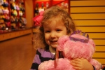 First time at Build-a-Bear--thanks, Kevin and Brittany