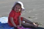 Loving the sand!