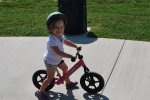Getting started with the balance bike