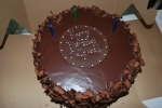 Quintessential Chocolate Cake from French Broad!