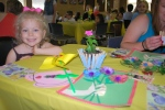 Mother's Day luncheon at preschool