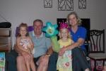With Granddaddy and Grandma Schwartz