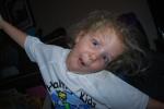 Crazy girl!