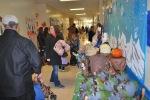 Pumpkin Lighting at Abigail's school