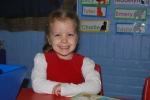 Night of Madilyn's preschool performance