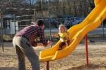 At the park; big girl!