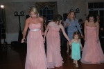Teaching Madilyn the electric slide