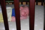 Tummy snoozing