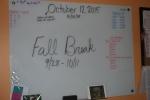 Fall break!