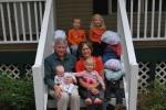 Group shot with Grandma and Grandpa