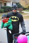 Bat(dad) and Robin