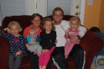 All the nieces and the nephew :)