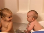 Bathtime buddies