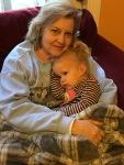 Sick snuggles with grandma