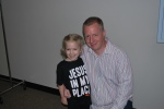 With Mr. Bill, children's pastor