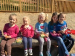 Lunch at the Antler Hill playground