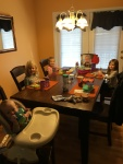 Lunch with 5 kids. Wow!