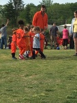 First soccer game!