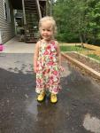 """""""Mommy! Rainy day!"""""""