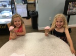 Celebratory ice cream at Painter's