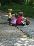 Petting Molly