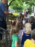 Police department tour