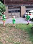 Earning $ for VBS by picking up sticks